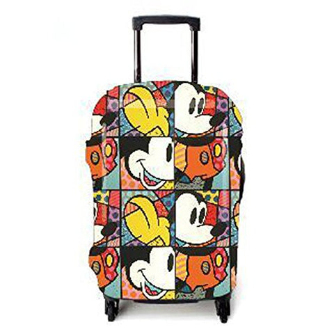 Seiyue Travel Luggage Cover Suitcase Protector Fits 18-32 Inch Luggage (02, Xl(30''-32''Luggage))