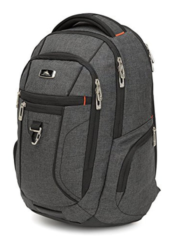 High Sierra Endeavor Business Essential Backpack, Mercury Heather
