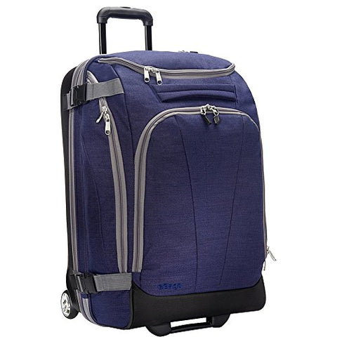 "eBags TLS Mother Lode Junior 25"" Rolling Duffel Bag Luggage - (Brushed Indigo)"