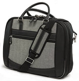 "Mobile Edge ScanFast Element Briefcase - 14.1""/15""Mac Laptop Bag (MESFEBHS)"