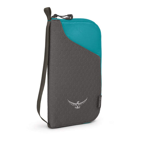 Osprey Packs Document Zip, Tropic Teal, One Size