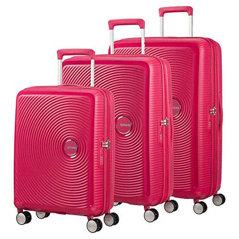 American Tourister Curio Hardside 3 Piece Set 20/25/29 with Spinner Wheels, Pink