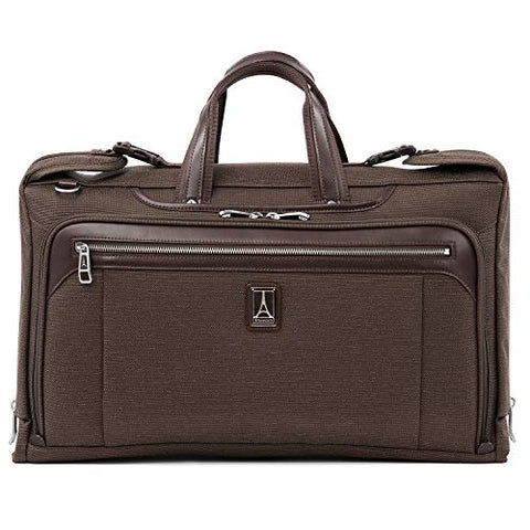 "Travelpro Luggage Platinum Elite 20"" Carry-On Tri-Fold Garment Bag, Rich Espresso"