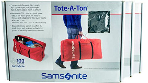 "Samsonite Tote-A-Ton 32.5"" 3-Piece Boxed Duffel Set (Orange)"