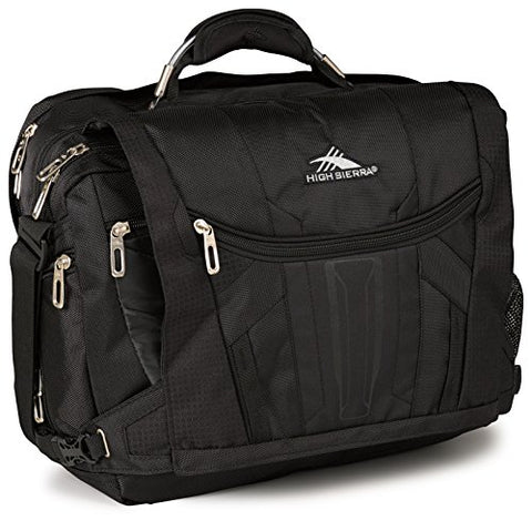 High Sierra Xbt Tsa Messenger Bag, Black