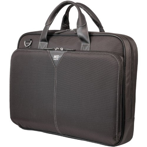 Mobile Edge 16-Inch Select Nylon Laptop Briefcase - Black (MEBCNS1)