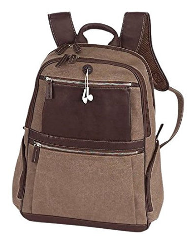 BELLINO Autumn Computer Backpack Scan Express, Brown