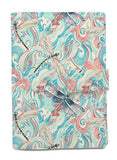 Watercolor Dragonfly Beige Printed Canvas Passport Holder Cover Case Was_11
