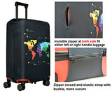 Spandex Luggage Cover for Travel- HoJax Suitcase Protective Bag Cover for Samsonite Delsey Fit