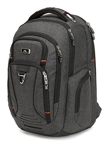 High Sierra Endeavor Business Elite Backpack, Mercury Heather