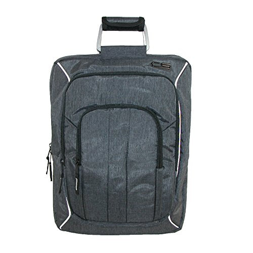 Carbon Sesto Men's Odyssey Convertible Bag to Backpack, Grey