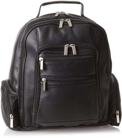 David King & Co. Oversize Laptop Backpack Plus, Black, One Size