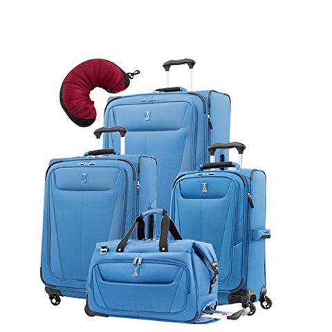 "Travelpro Maxlite 5 | 5-Pc Set | Carry-On Duffel, 21"" Carry-On, 25"" & 29"" Exp. Spinners With Travel"