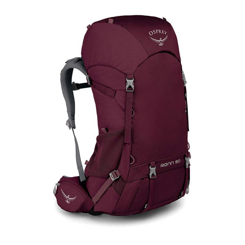 Osprey Packs Renn 50 Women's Backpacking Pack, Aurora Purple, One Size