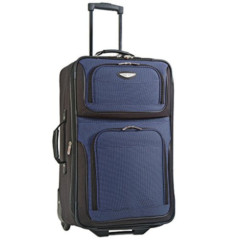 Travelers Choice Travel Select Amsterdam 25-Inch Expandable Rolling Upright, Navy