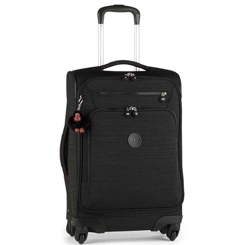 Kipling Unisex-Adult's YOURI Spin 55 Dazz Black Small Wheeled Luggage