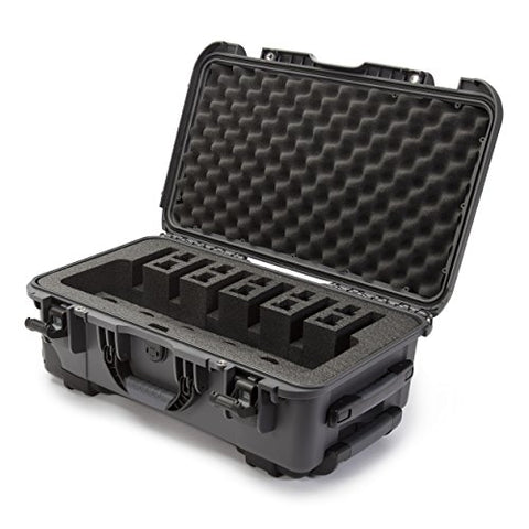 Nanuk 935 Waterproof Professional Gun Case With Foam Insert For 6Up - Graphite