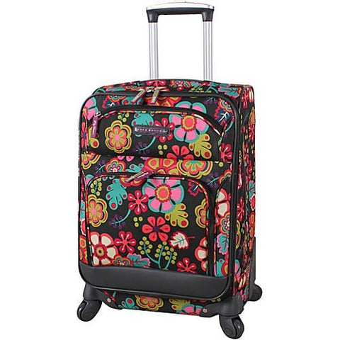 "20"" Exp Spinner Luggage Folky Floral"