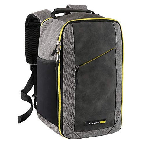 Cabin Max Manhattan Stowaway - 14x8x8 Lightweight 1 lb Mini Backpack Personal Item Bag -