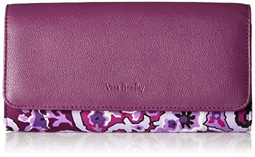 Rfid Audrey Wallet - Signature Wallet, Lilac Paisley, One Size