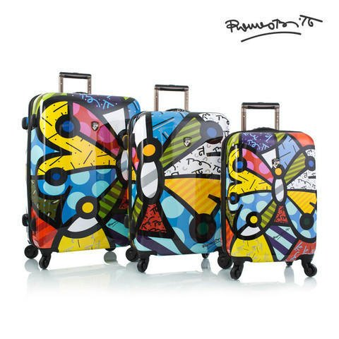 Heys America Britto Spinner - 3 Piece set (Butterfly)
