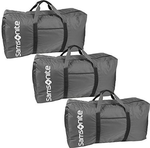 "Samsonite Tote-A-Ton 32.5"" 3-Piece Duffel Set (Charcoal)"