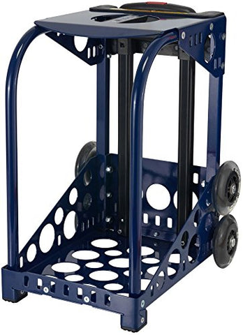 Zuca Sport Frame with Built-In Seat (Choose Your Color), for any Zuca Sport Insert Bag (Navy Dark Blue)