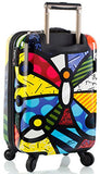 Heys America Multi -Britto Butterfly 21-Inch Carry-On Spinner Luggage