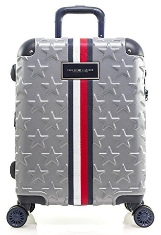 "Tommy Hilfiger Starlight 21"" Expandable Hardside Spinner, Charcoal"