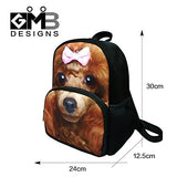 CrazyTravel Small 3D Animal Children Book Bag Backpack Daypack for School Travel 12 Inch