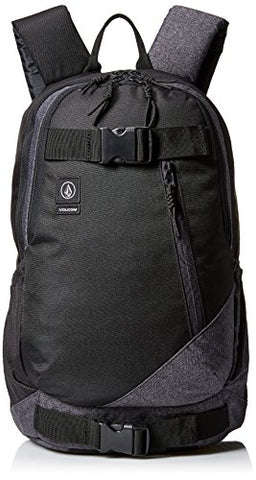 Volcom Unisex Substrate Backpack, Ink Black, One Size