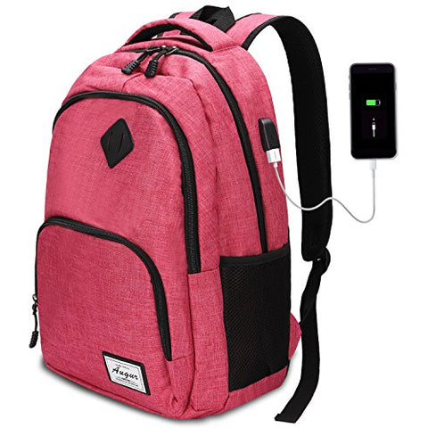 Laptop Backpack with USB Charging Port 15.6 Inch Compartment 35L for Travel Business School Daily