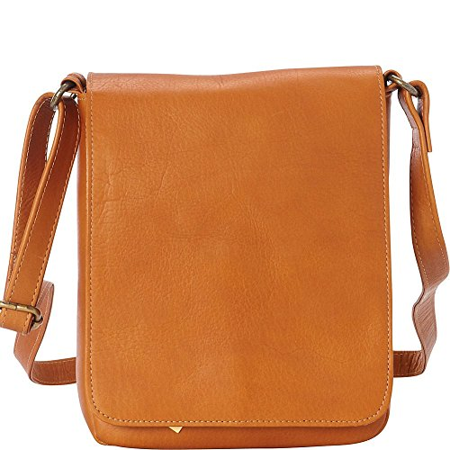 LeDonne Women's LD-9896-TAN Capella Flap Over Bag, Tan, Medium