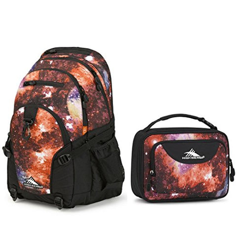 High Sierra Combo Backpack & Lunch Bag Back To School Bundle Loop/Single Compartment Lunch Bag