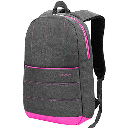 "Vangoddy Grove Padded Laptop Backpack For Up To 15.6"" Laptops (Vggrove15Pnk)"