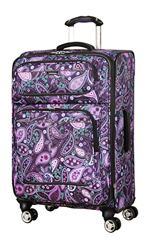 Ricardo Beverly Hills Mar Vista 24-Inch 4 Wheel Expandable Upright, Purple Paisley, One Size