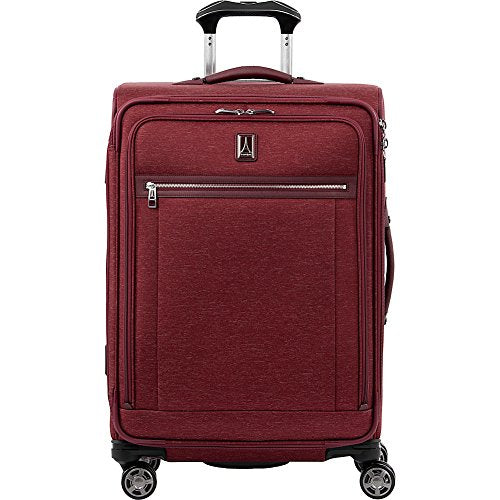Travelpro Luggage Platinum Elite Expandable Spinner Suitcase, Bordeaux