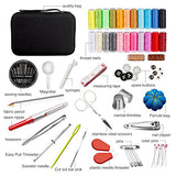 Kehome Sewing Kit With 99 Premium Sewing Accessories, Practical Mini Travel Sewing Kit With Black