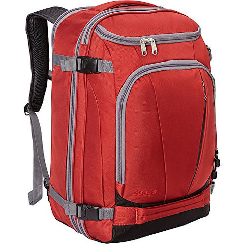 "eBags TLS Mother Lode Weekender Convertible Carry-On Travel Backpack - Fits 19"" Laptop - (Sinful Red)"