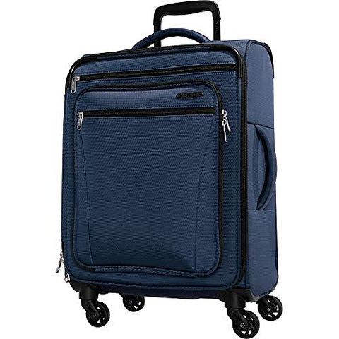 eBags eTech 3.0 Softside Spinner Carry-On (Sapphire Blue)