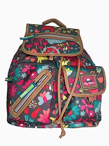 Lily Bloom Riley Multi-Purpose Backpack, Playful Garden