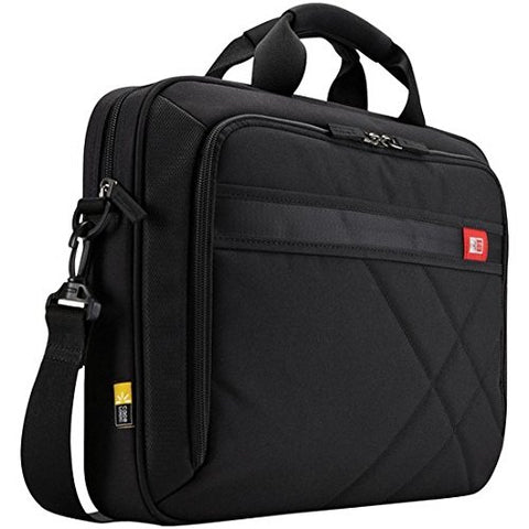 "Case Logic 3201433 Diamond Laptop & Tablet Bag (15.6""), Black"