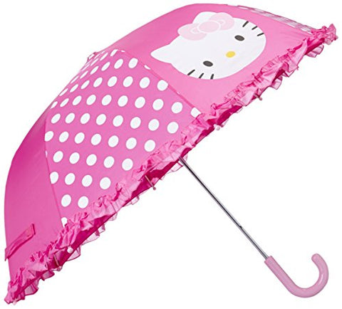 Western Chief Kids Character Umbrella, Hello Kitty Cutie Dot, One Size
