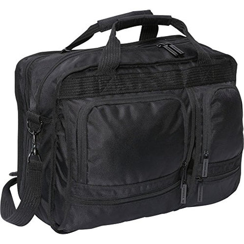Bellino Scan Express Computer Brief, Black