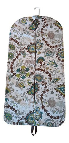 Carry It Well Women'S Jungle Print Hanging Garment Bag