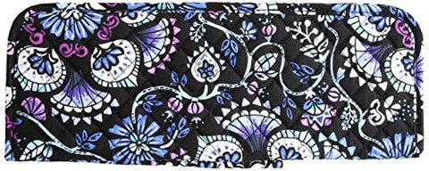 Vera Bradley womens Iconic Curling & Flat Iron Cover, Signature Cotton, Bramble, One Size