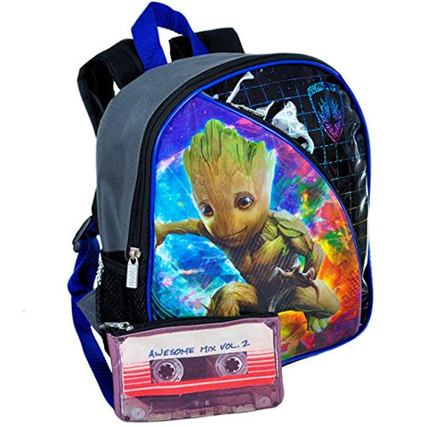 Marvel Guardians of the Galaxy Toddler Preschool Backpack 11 inch Mini Backpack Featuring Groot