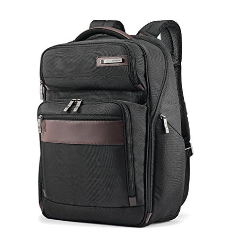 Samsonite Kombi Large Backpack, Black/Brown