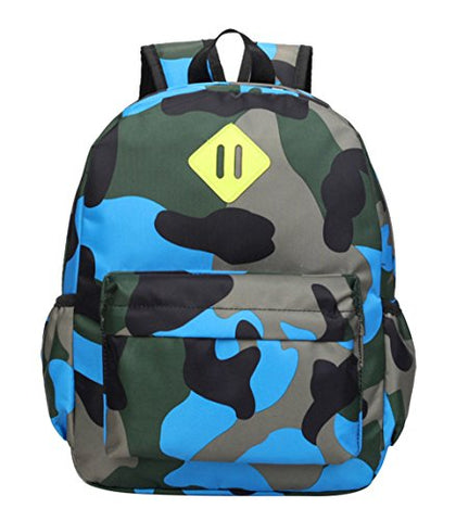 Fanci Camo Flora Printing Kids Backpack Waterproof Toddler School Book bag