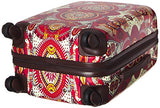 Sakroots Women's New Adventure Suitcase 20'' Hard Side, Ruby Wanderlust
